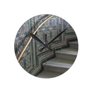 Palacio de Communicaciones, Moorish tiles Round Clocks