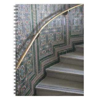 Palacio de Communicaciones, Moorish tiles Note Book