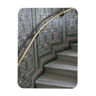 Palacio de Communicaciones, Moorish tiles Rectangular Photo Magnet