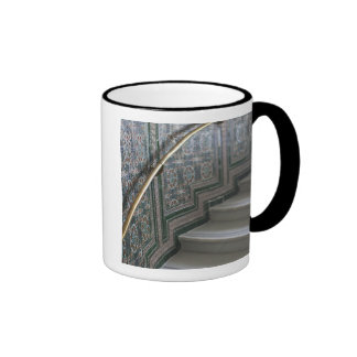 Palacio de Communicaciones, Moorish tiles Ringer Mug