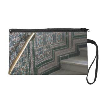Palacio de Communicaciones, Moorish tiles Wristlet Purses