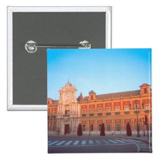 Palacio de Telmo in Seville, Spain seat of 15 Cm Square Badge