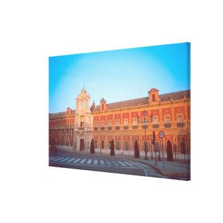 Palacio de Telmo in Seville, Spain seat of Canvas Print