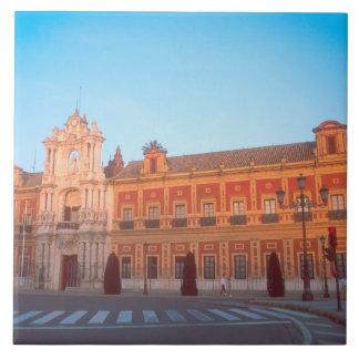 Palacio de Telmo in Seville, Spain seat of Large Square Tile
