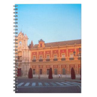 Palacio de Telmo in Seville, Spain seat of Note Books