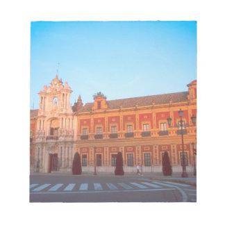 Palacio de Telmo in Seville, Spain seat of Notepad