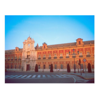 Palacio de Telmo in Seville, Spain seat of Postcard