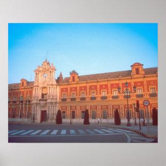 Palacio de Telmo in Seville Spain seat of Posters