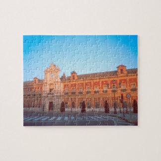 Palacio de Telmo in Seville, Spain seat of Puzzles
