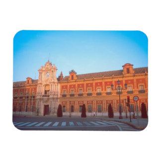 Palacio de Telmo in Seville, Spain seat of Rectangular Photo Magnet