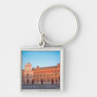 Palacio de Telmo in Seville, Spain seat of Silver-Colored Square Key Ring