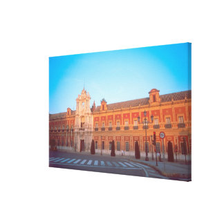 Palacio de Telmo in Seville, Spain seat of Stretched Canvas Prints