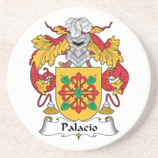 Palacio Family Crest Drink Coasters