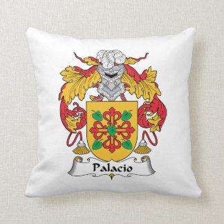 Palacio Family Crest Throw Pillows