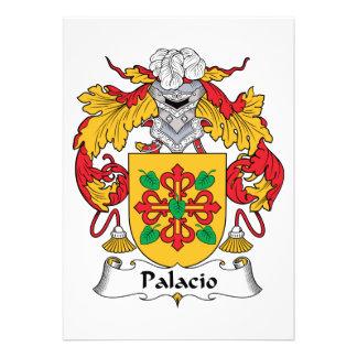 Palacio Family Crest Card