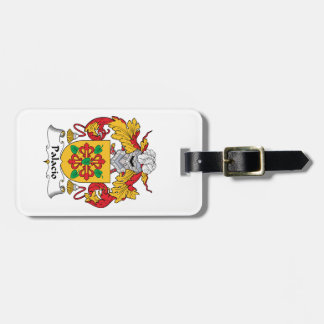 Palacio Family Crest Tag For Luggage