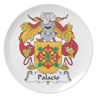 Palacio Family Crest Party Plates