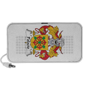 Palacio Family Crest Travelling Speakers