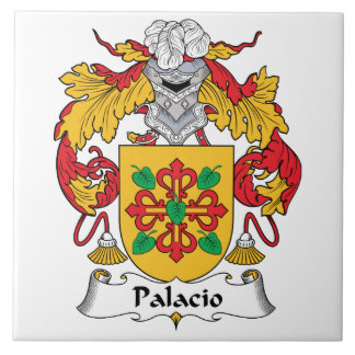 Palacio Family Crest Ceramic Tiles