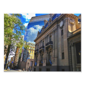 Palacio in Buenos Aires, Argentina Photo Art