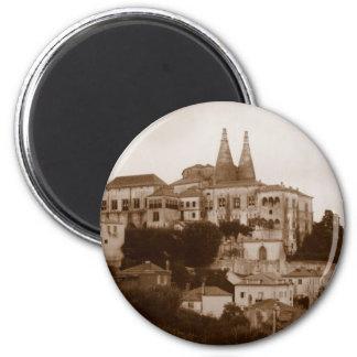 Palacio National - Sintra 6 Cm Round Magnet