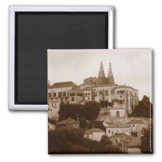 Palacio National - Sintra Square Magnet