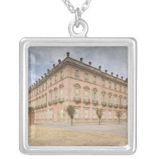 Palacio Real de Riofrio Square Pendant Necklace