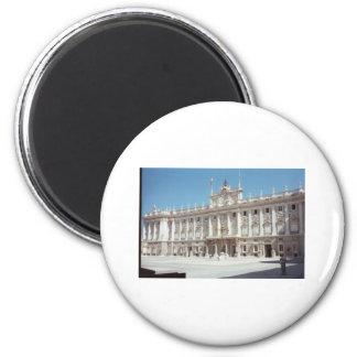 Palacio Real, Madrid 6 Cm Round Magnet