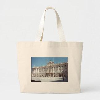 Palacio Real, Madrid Canvas Bags