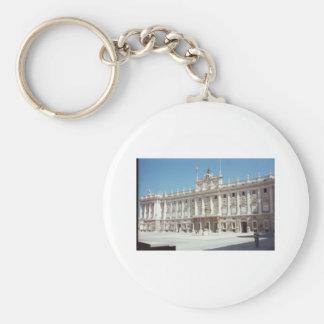 Palacio Real, Madrid Basic Round Button Key Ring