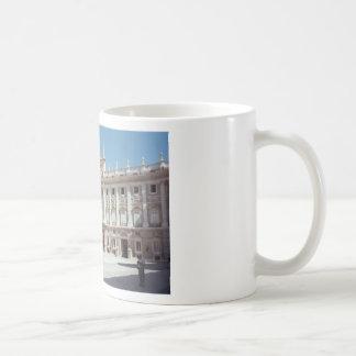 Palacio Real, Madrid Basic White Mug
