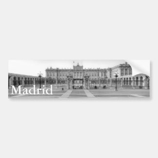Palacio Real, Madrid Bumper Sticker