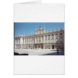 Palacio Real, Madrid Greeting Card