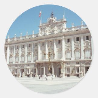 Palacio Real, Madrid Stickers
