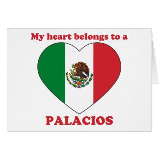 Palacios Greeting Card