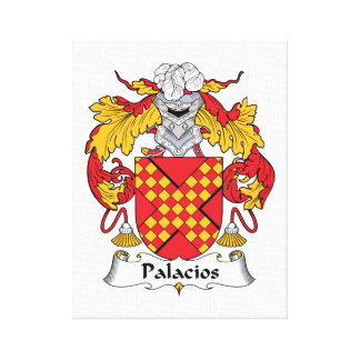 Palacios Family Crest Gallery Wrapped Canvas