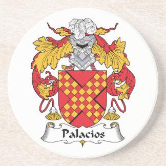 Palacios Family Crest Beverage Coaster