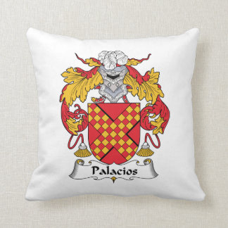 Palacios Family Crest Pillow