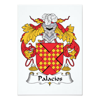 Palacios Family Crest Invitations