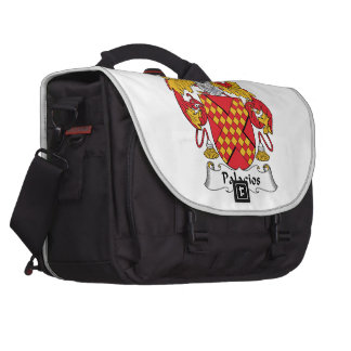 Palacios Family Crest Computer Bag