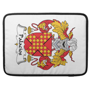 Palacios Family Crest Sleeves For MacBook Pro