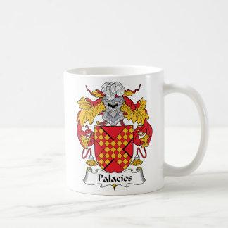 Palacios Family Crest Coffee Mugs