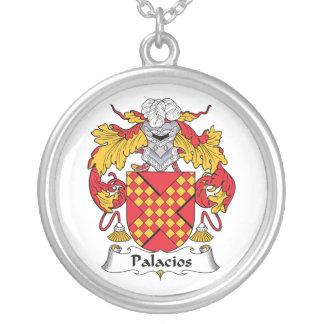 Palacios Family Crest Necklaces