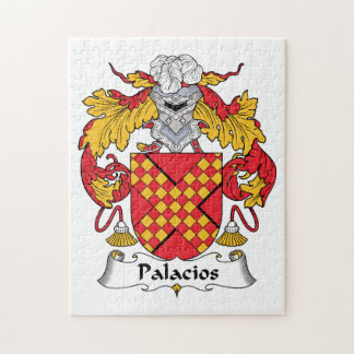 Palacios Family Crest Puzzles