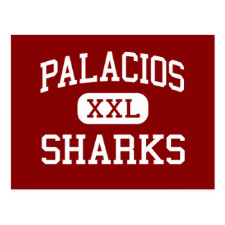 Palacios - Sharks - High School - Palacios Texas Postcard