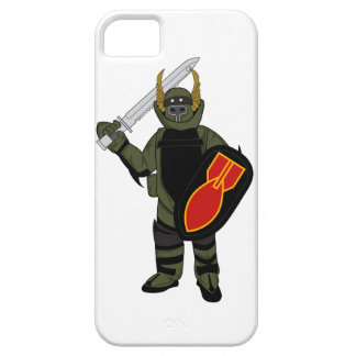 Paladin Bomb Suit iPhone 5 Cases