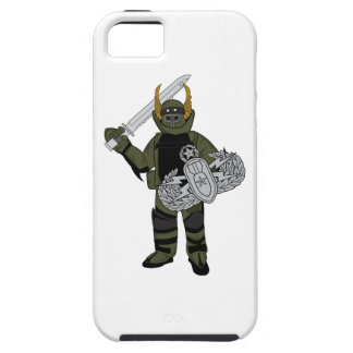 Paladin Bomb Suit iPhone 5 Cases