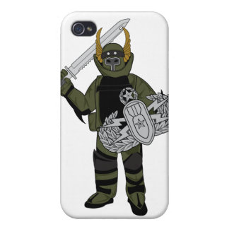 Paladin Bomb Suit iPhone 4 Covers