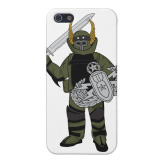 Paladin Bomb Suit iPhone 5 Covers