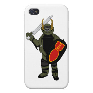 Paladin Bomb Suit iPhone 4 Cover